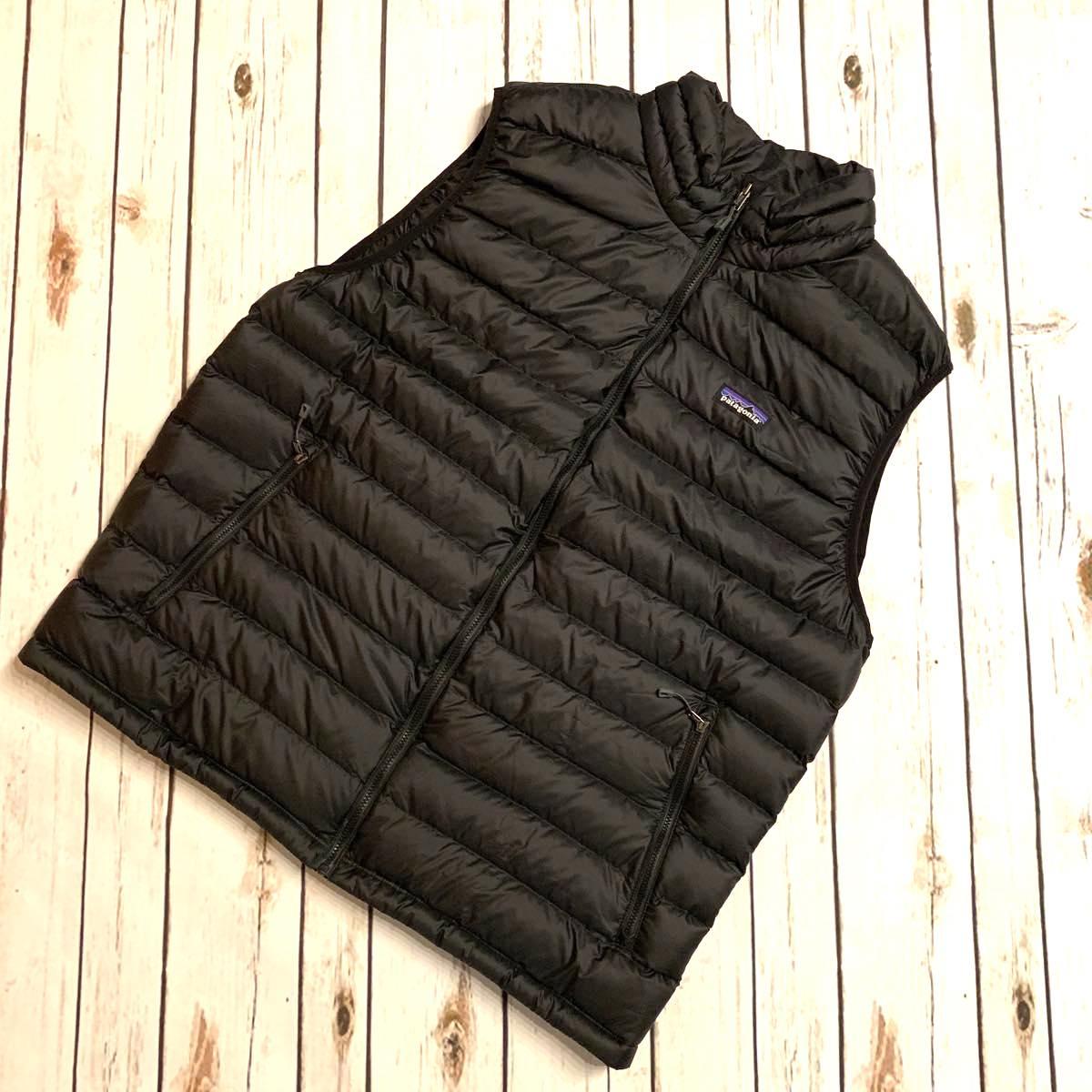 Patagonia メンズ・ダウン・セーター・ベスト ブラック