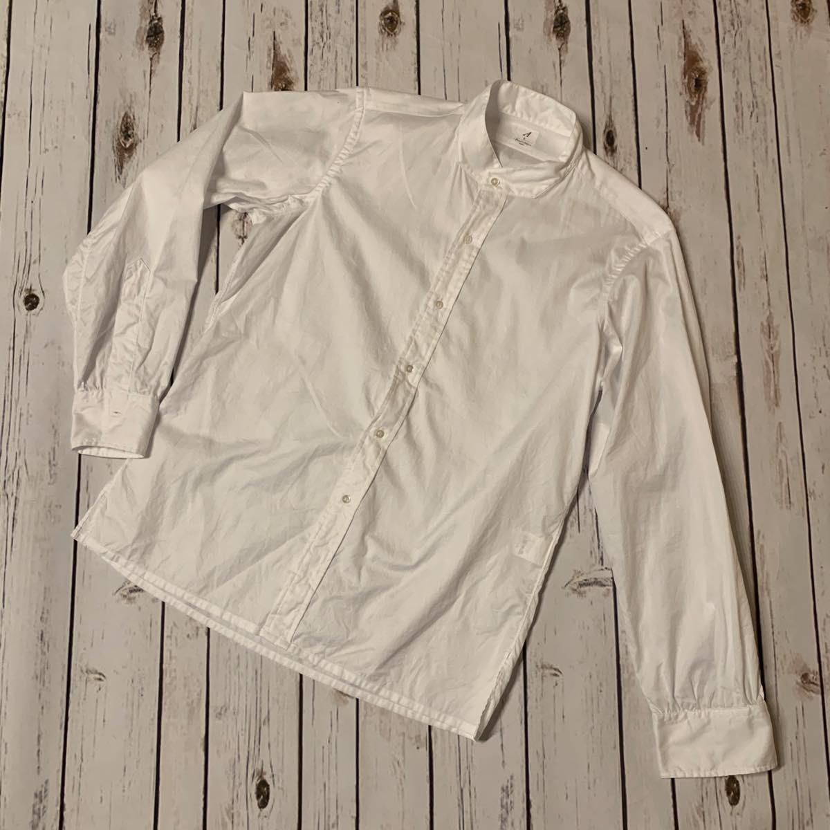 ANATOMICA (アナトミカ)バンドカラーシャツ 2019SS