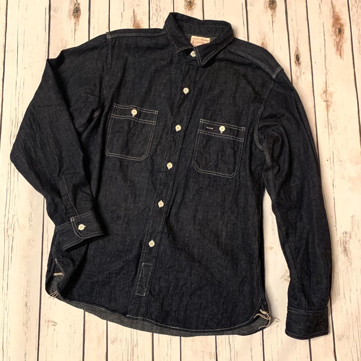 BONCOURA(ボンクラ)長袖ワークシャツ