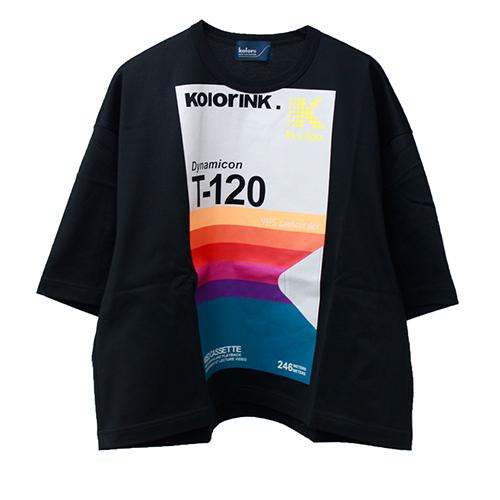 kolor(カラー) プリントボックスTシャツ 2020SS
