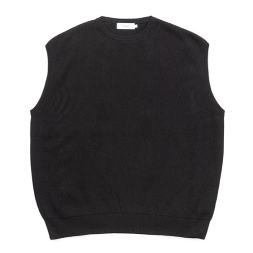 Graphpaper(グラフペーパー) High Density Cotton Knit Vest 2020SS