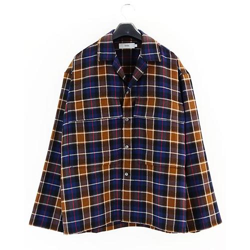 Graphpaper(グラフペーパー) Wool Check Military Shirt