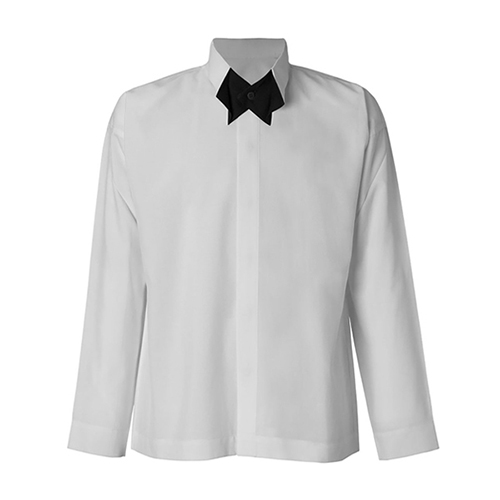 HOMME PLISSE ISSEY MIYAKE(オムプリッセ) BOW-TIE PRESS SHIRT FJ001 2020SS