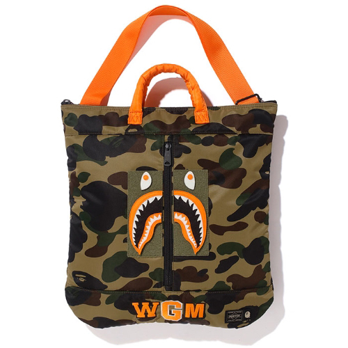 PORTER  ORIGINAL 1ST CAMO SHARK HELMET BAG 【生産終了モデル】