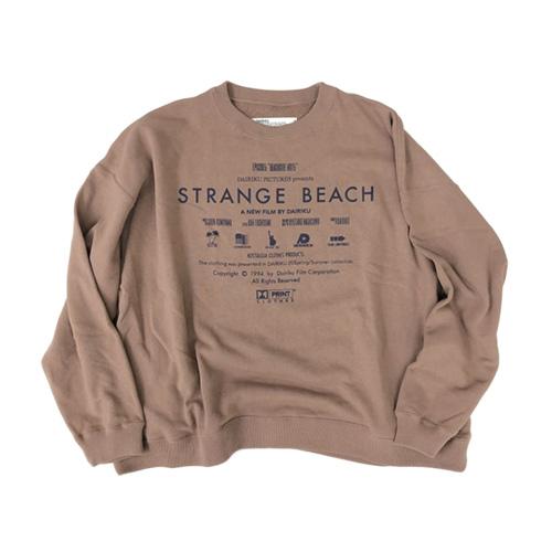 DAIRIKU(ダイリク) Strange Beach Title Sweater 2020SS