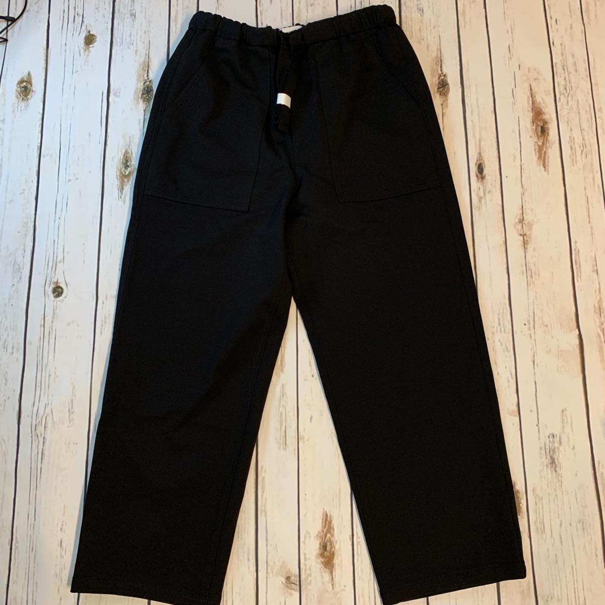 Graphpaper(グラフペーパー)Baker Sweat Pants BLACK GM201-40014