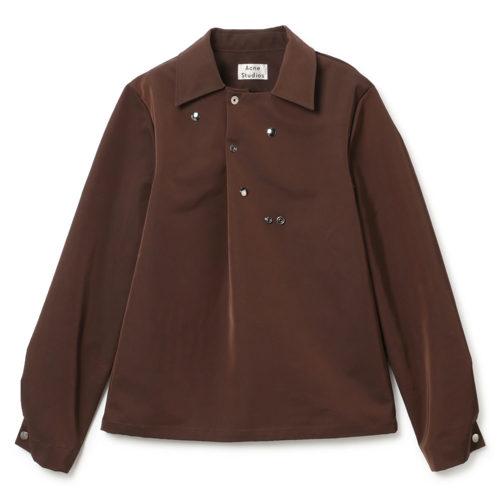 ACNE STUDIOS(アクネ ストゥディオズ) Technical Twill Shirt 2020SS
