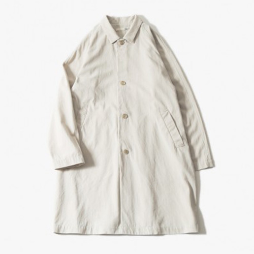 evam eva(エヴァムエヴァ) raglan sleeve coat -men's