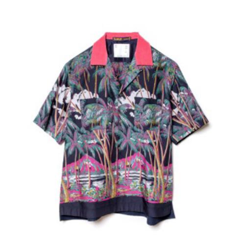 sacai (サカイ) x SUN SURF Diamond Head Shirt