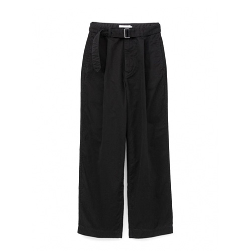 Graphpaper(グラフペーパー)   Military Cloth Belted Pants Black