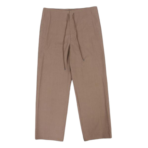 AURALEE (オーラリー) WASHED FINX TWILL EASY WIDE PANTS