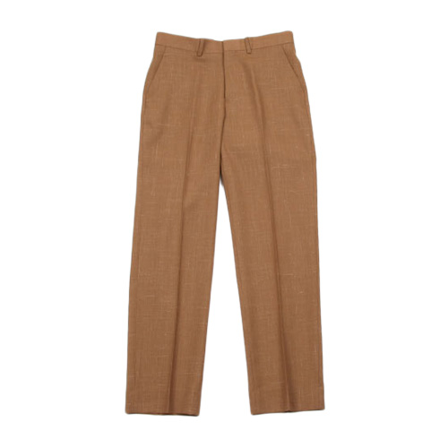 AURALEE (オーラリー) WOOL CUPRA LINEN SLACKS