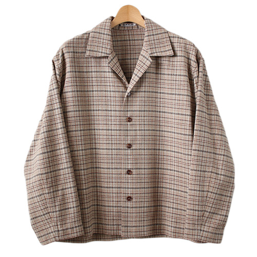 AURALEE (オーラリー) SILK SUMMER TWEED BLOUSON