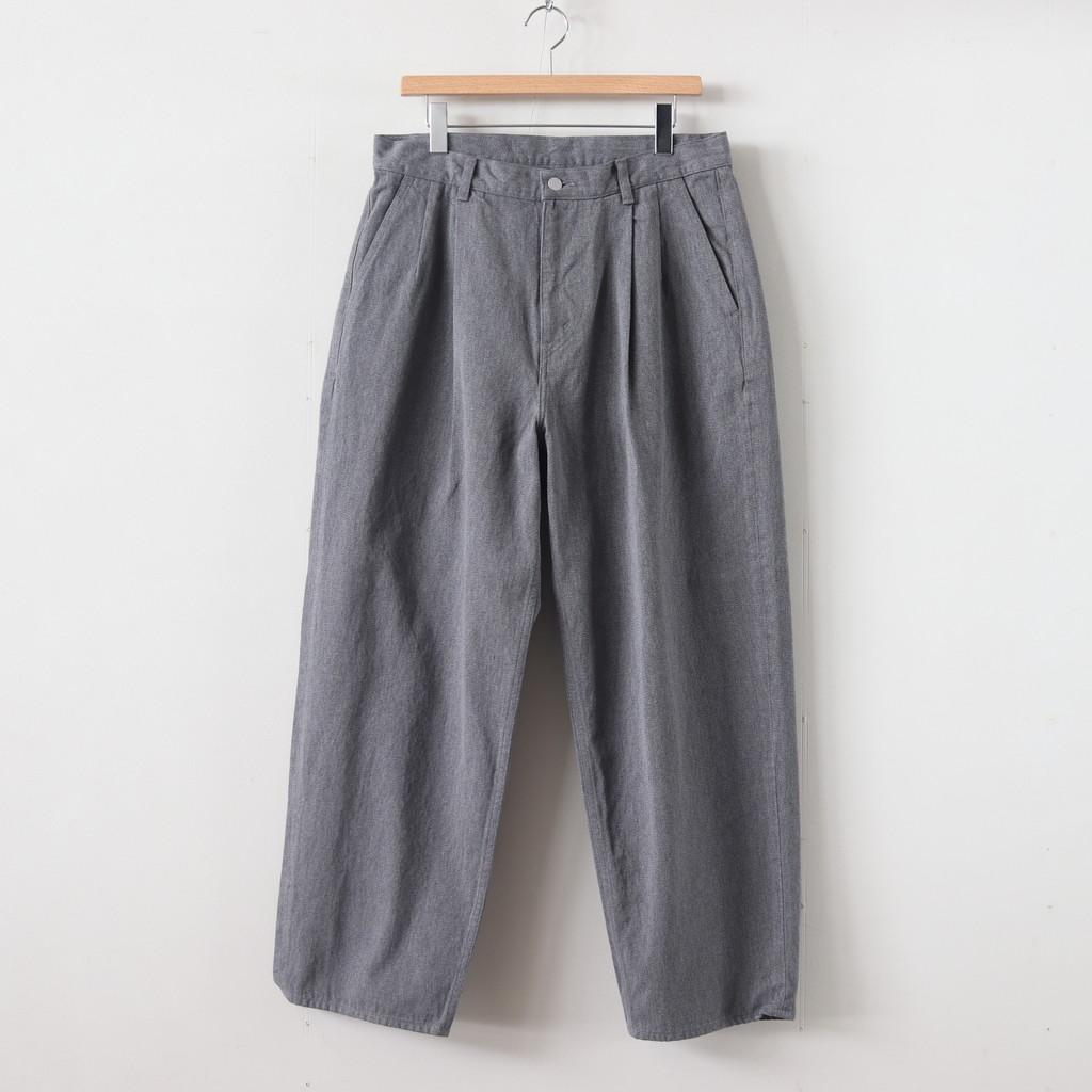 Graphpaper(グラフペーパー) Colorfast Denim 2 Tuck Pants [GM201-40095B]