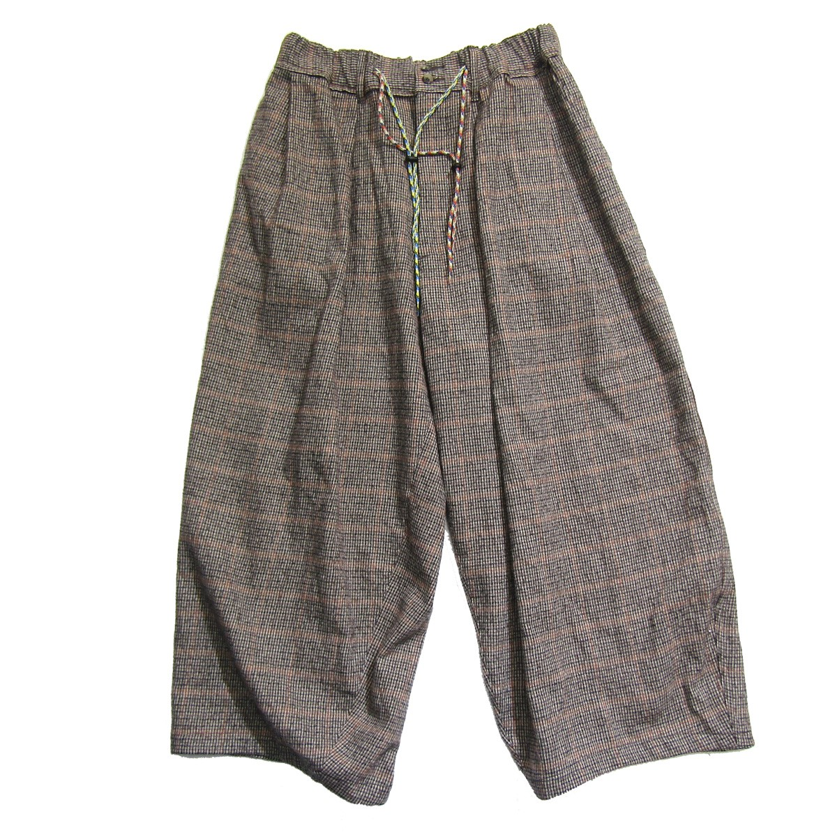 Sillage (シアージ) CIRCULAR PANTS サーキュラーパンツ ワイドパンツ #BROWN