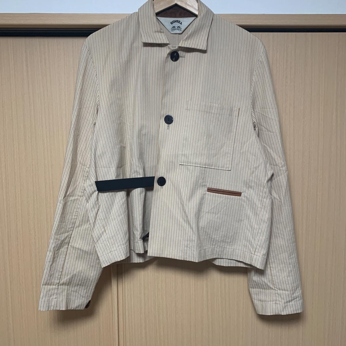 SUNSEA(サンシー) BUENA VISTA Stripe Jacket