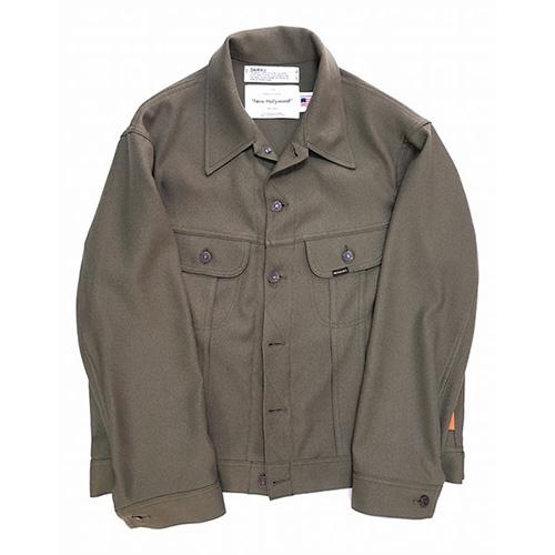 DAIRIKU(ダイリク) Regular Polyester Jacket