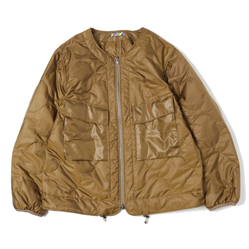 is-ness (イズネス) COJ QUILTED LINER JACKET
