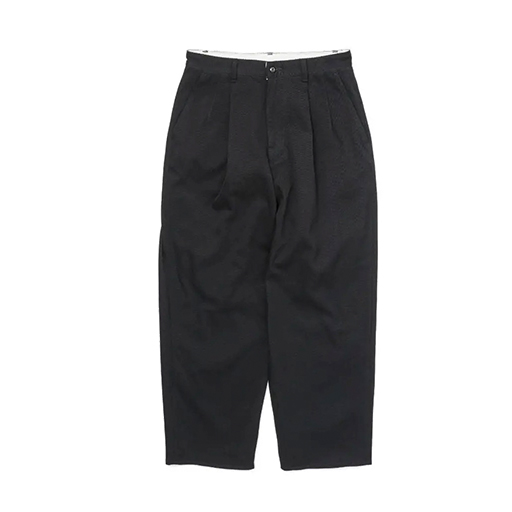 Graphpaper (グラフペーパー) 2020AW HARD TWILL TWO TUCK PANTS