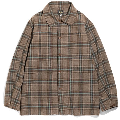 NEEDLES (ニードルス) 2020AW D.N. COVERALL – PLAID TWEED