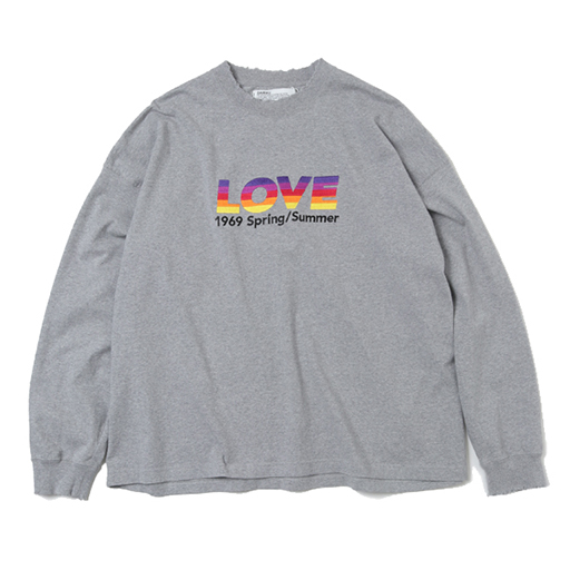 DAIRIKU(ダイリク)Long Sleeve Tee|ロングスリーブTシャツコレクション