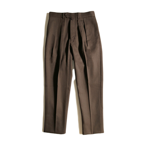 NEAT (ニート)Cotton Kersey  TAPERED (BROWN) 鬼カルゼ 2019AW