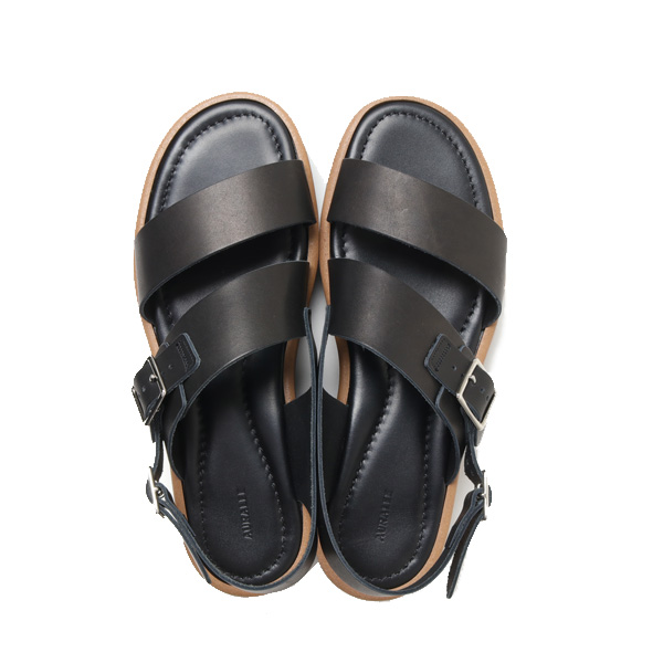 AURALEE (オーラリー) 2020SS LEATHER BELT SANDALS MADE BY FOOT THE COACHER