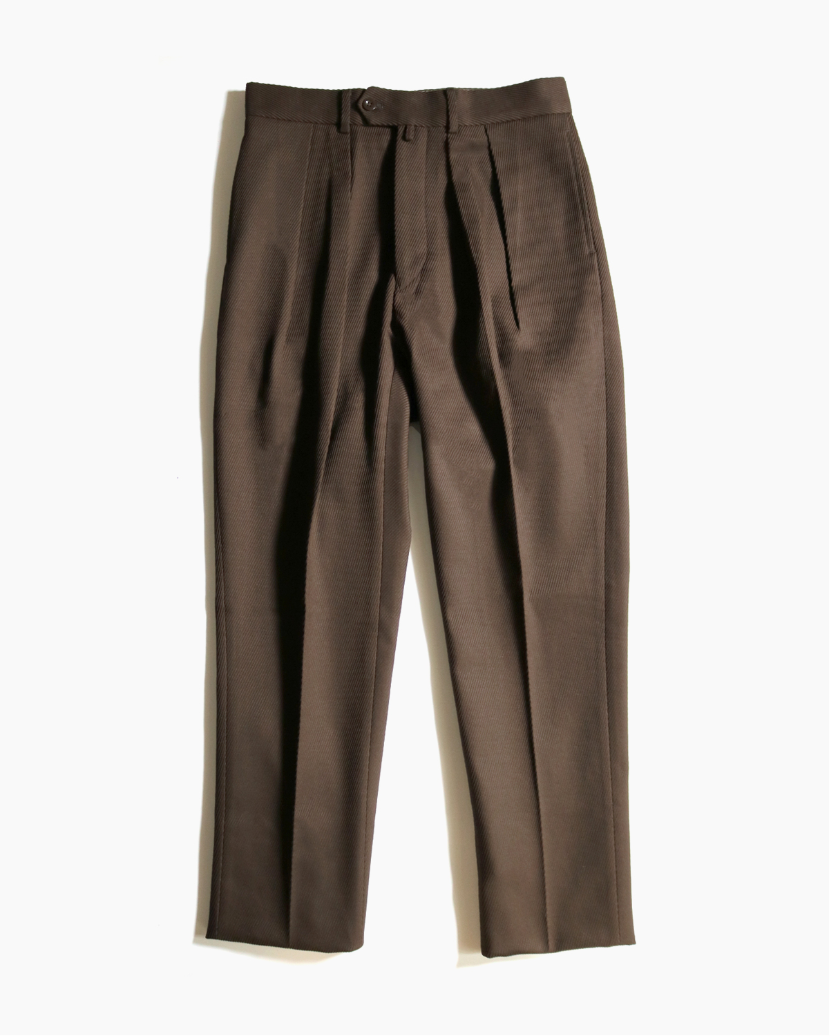 NEAT (ニート) Cotton Kersey  TAPERED (BROWN) 鬼カルゼ