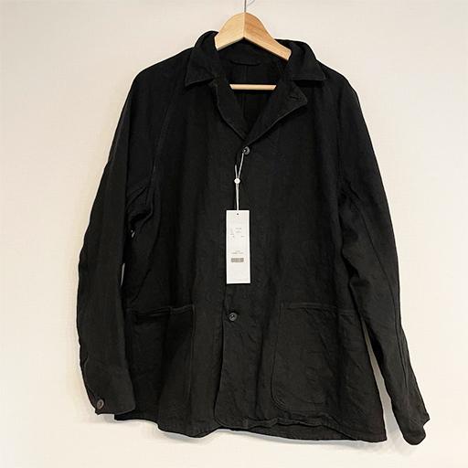 COMOLI (コモリ) 2021SS デニム ワークジャケット BLACK