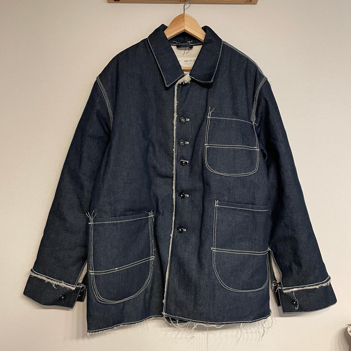 CAMIEL FORTGENS (カミエル・フォートヘンス)Padded Denim Jacket
